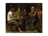 Peasants in a Tavern, 1640S Giclee Print by Mathieu Le Nain