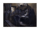 Ivan the Terrible and the Ghosts of His Victims, 19th or Early 20th Century Giclee Print by Mikhail Petrovich Klodt