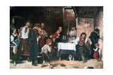 The Condemned Cell, C1864-1900 Giclee Print by Mihaly Munkacsy