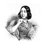 George Sand, 1923 Giclee Print by Louis Leopold Boilly