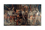 The Battle of San Romano, 1432 (C1435-144) Giclée-tryk af Paolo Uccello