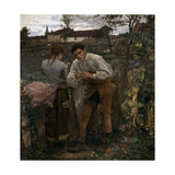 Rural Love, 1882 Giclee Print by Jules Bastien-Lepage