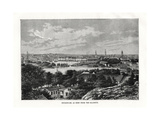 Stockholm, as Seen from the Saltsjon, Sweden, 1879 Giclee Print by  Laplante