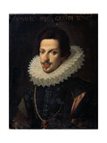 Portrait of Grand Duke of Tuscany Cosimo II De' Medici, 17th Century Giclee Print by Justus Sustermans