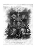 A Seletion of British Admirals, 1816 Giclee Print by  Meyer