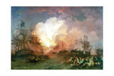 The Battle of the Nile, 1800 Giclee Print by Philip James De Loutherbourg