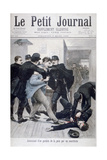 Assassination of a Policeman by an Anarchist, 1895 Giclee Print by Lionel Noel Royer