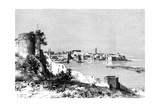 Rabat and the Mouth of the Bu-Regrag River, Morocco, 1895 Giclee Print by  Meunier