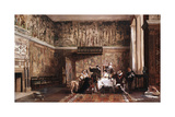 Interior of Haddon Hall, 19th Century Giclee Print by Laslett John Pott