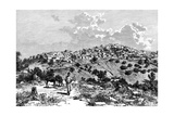A Kabyle Village, North Africa, 1895 Giclee Print by  Meunier