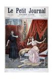 Sibyl Sanderson and Delmas in Jules Massenet 's Opera Thais, Paris, 1894 Giclee Print by Oswaldo Tofani