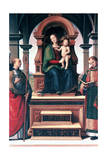 Madonna and Child with Saints, C1470-1523 Giclee Print by  Perugino