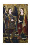 St Michael and Engracia, C1489-C1513 Giclee Print by Juan de la Abadia the Younger
