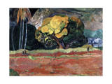 Fatata Te Moua (At the Foot of a Mountai), 1892 Giclee Print by Paul Gauguin