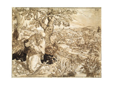 A Hermit, 1585-1586 Giclee Print by Martin de Vos