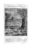 Marsh, 1615 Giclee Print by Leonard Gaultier