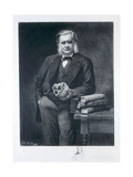 Thomas Henry Huxley, 1893 Giclee Print by Leopold Flameng