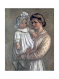 Claude and Renee, 1904 Giclee Print by Pierre-Auguste Renoir