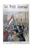 Demonstration Against Joseph Chamberlain, Ireland, 1899 Giclee Print by Oswaldo Tofani