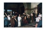 Christ before Pilate, 1881 Giclee Print by Mihaly Munkacsy