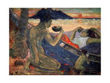 Te Vaa (The Cano), 1896 Giclee Print by Paul Gauguin