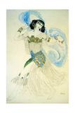 Dance of the Seven Veils, 1908 Giclee Print by Leon Bakst