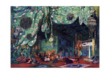 Set Design for the Ballet Scheherazade, C1913 Giclee Print by Leon Bakst