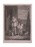 Milk Below Maids, Cries of London, C1795 Giclee Print by Luigi Schiavonetti