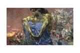 Demon Seated in a Garden, 1890 Giclee Print by Mikhail Vrubel