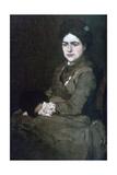 Mrs Munkacsy, C1864-1900 Giclee Print by Mihaly Munkacsy