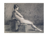 Model in Profile, C1853-1922 Giclee Print by Leon Joseph Florentin Bonnat