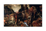 The Conversion of Saint Paul, C1570 Giclee Print by Paolo Veronese
