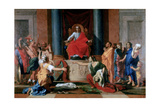 The Judgement of Solomon, 1649 Giclee Print by Nicolas Poussin