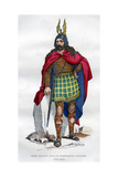 Gaul Chief under the Roman Occupation, 1st Century BC - 5th Century Ad (1882-188) Giclee Print by  Meunier