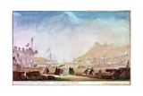 The Marina of Brest, C1750-1810 Giclee Print by Nicolas Marie Ozanne