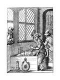 Coin Maker, 16th Century Giclee Print by Jost Amman