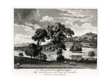 Chatsworth in Derbyshire, the Seat of His Grace the Duke of Devonshire, 1775 Giclee Print by Michael Angelo Rooker