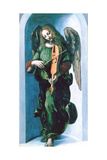 An Angel in Green with a Vielle, C1500 Giclee Print by  Leonardo da Vinci