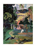 Matamoe (Death, Landscape with Peacock), 1892 Giclee Print by Paul Gauguin