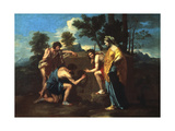 Et in Arcadia Ego, C1650 Giclee Print by Nicolas Poussin