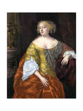 Anne Digby, Countess of Sutherland, C1660S Giclee Print by Peter Lely