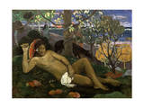 Te Arii Vahine (Woman of Royal Blood, the Queen, the King's Wife), 1896 Giclee Print by Paul Gauguin