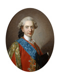 The Duc De Berry, Later King Louis XVI, Aged 15, C1769 Giclée-Druck von Louis Michel Van Loo