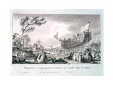 Untitled, C1750-1810 Giclee Print by Nicolas Marie Ozanne
