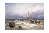 Seascape, 19th Century Giclee Print by Myles Birket Foster