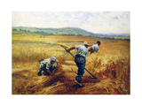Reapers, 1910 Giclee Print by Leon-Augustin Lhermitte