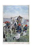 The Death of Commandant Lamy, Battle of Kousséri, 22nd April 1900 Giclee Print by Oswaldo Tofani