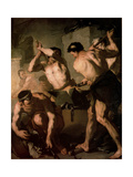 The Forge of Vulcan, C1660 Giclee Print by Luca Giordano