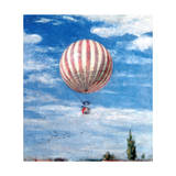 Balloon, 1878 Giclee Print by Pal Szinyei Merse