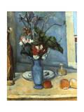 Le Vase Bleu, 1889-1890 ジクレープリント : ポール・セザンヌ